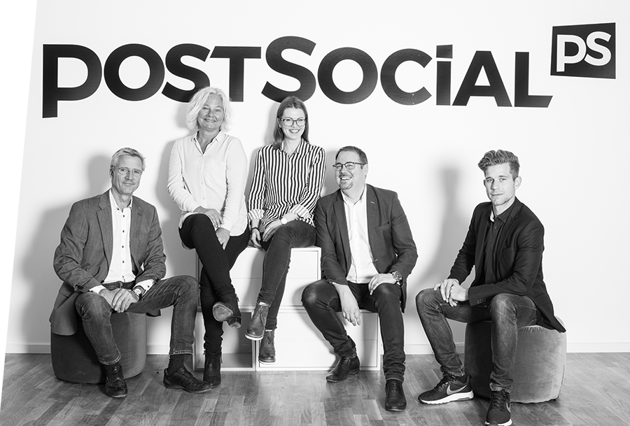 Ansatte i PostSocial