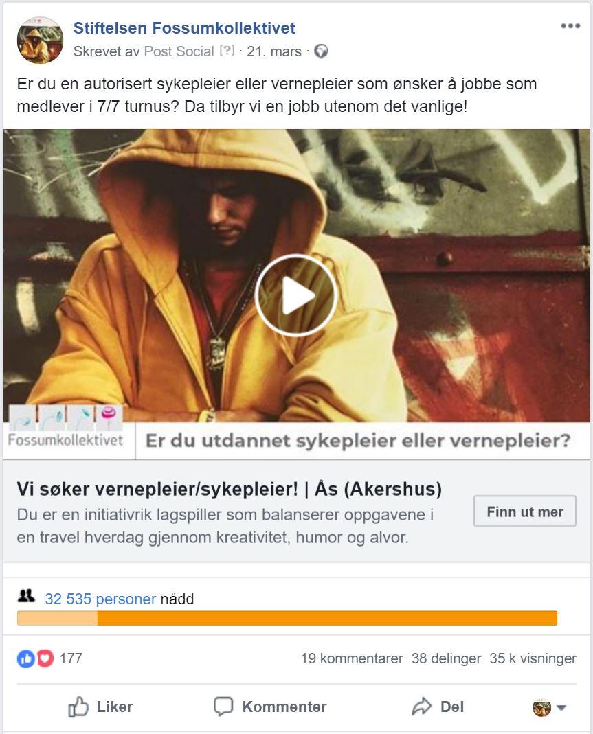 Fossumkollektivet på Facebook
